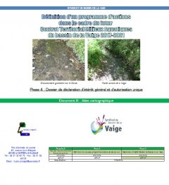 Atlas Cartographique - Vaige